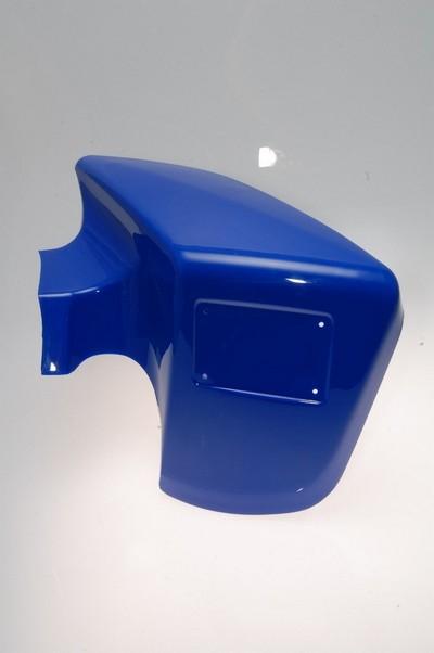 sárvédő, első jobb kék ATV 250 STXE