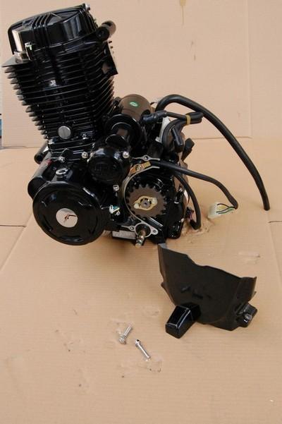 motor, komplett, ATV 250STXE 167FMM