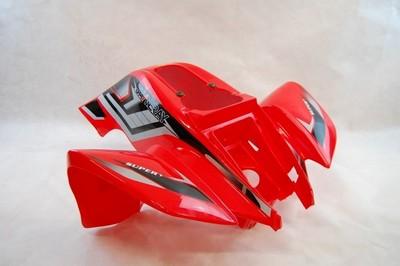 idom, első ATV XY150ST AUT. piros