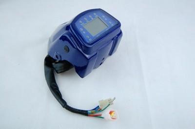 sebességmérő műszer ATV 150 AUT. kék ház/burkolat