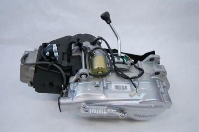 motor, komplett, ATV 150 GY6 AUT. +hátrameneti