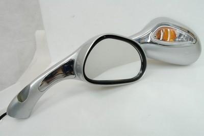 tükör szett, visszapillantó N.A.125 + irányjelző ezüst