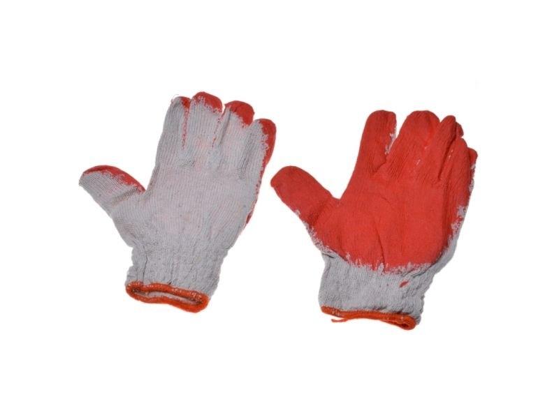 védő kesztyű textil 10 pár mártott tenyér