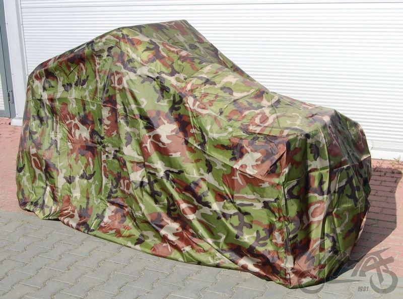 Quad ATV takaró ponyva kültéri katonai mintás 256x150x150