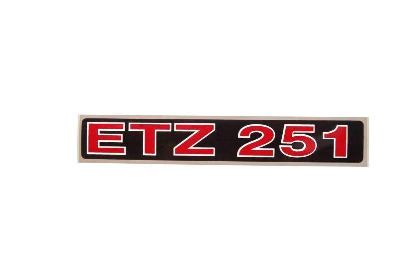 Embléma ETZ 251 10db