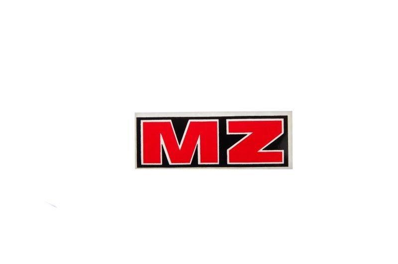 Embléma MZ Piros 10db