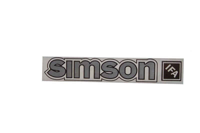 Embléma SIMSON 10db Ezüst