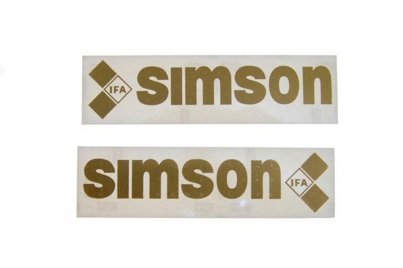 Embléma, SIMSON 10db ARANY