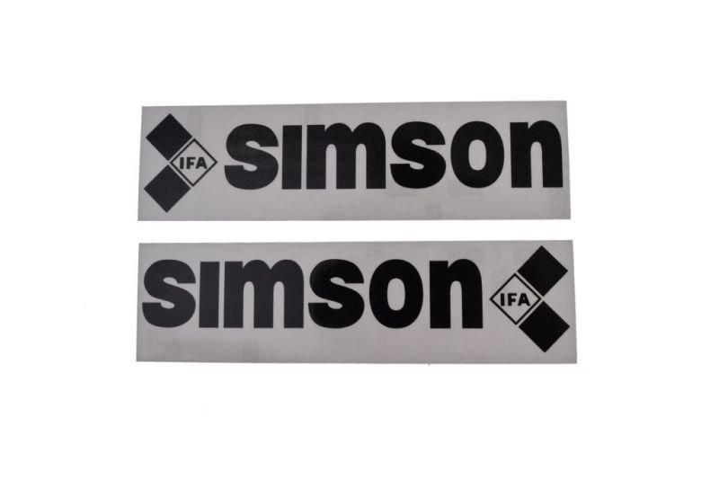 Embléma, SIMSON 10db FEKETE