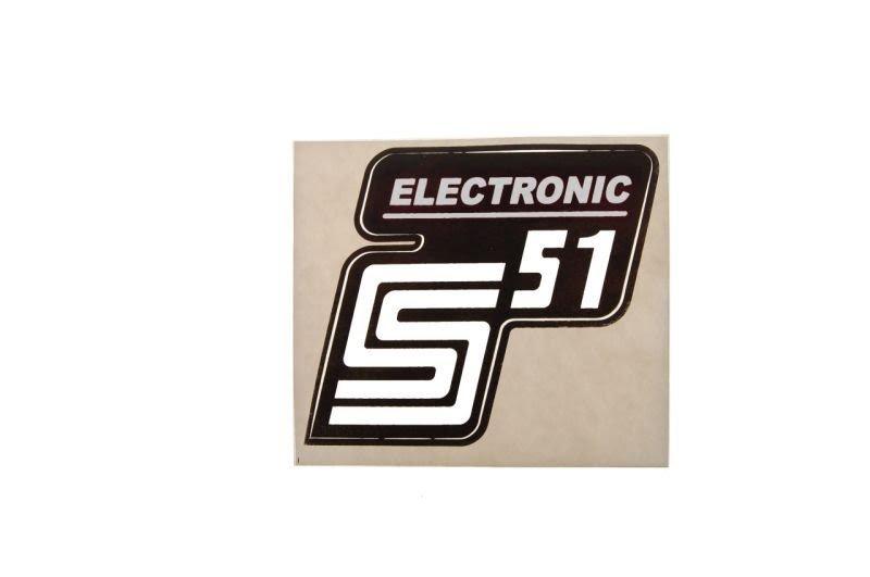 Embléma SIMSON Electronic 10db