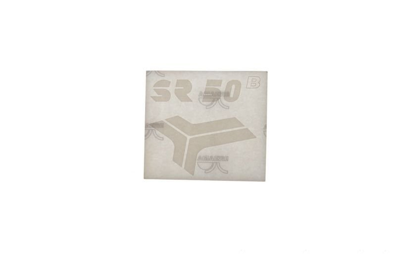 Embléma SIMSON SR50 Fehér 10db
