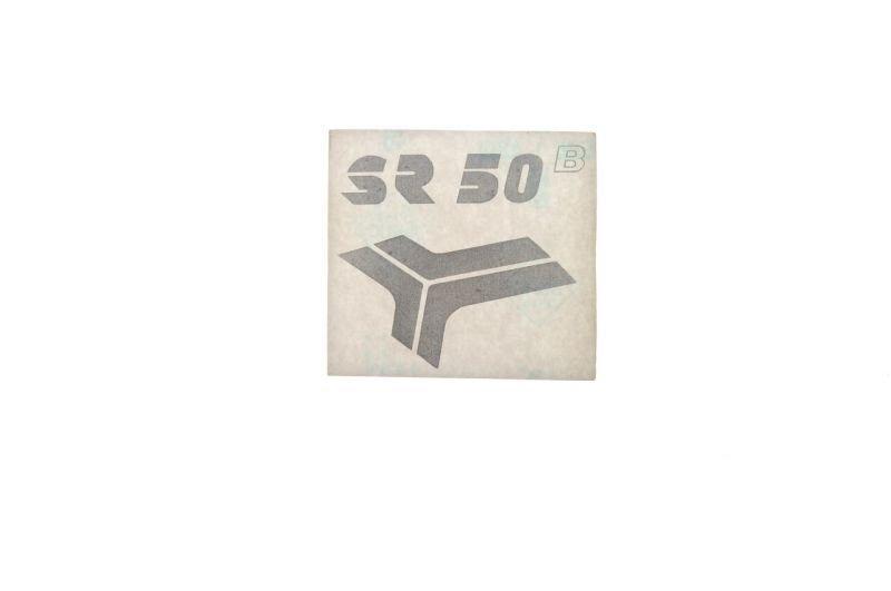 Embléma SIMSON SR50 Ezüst 10db