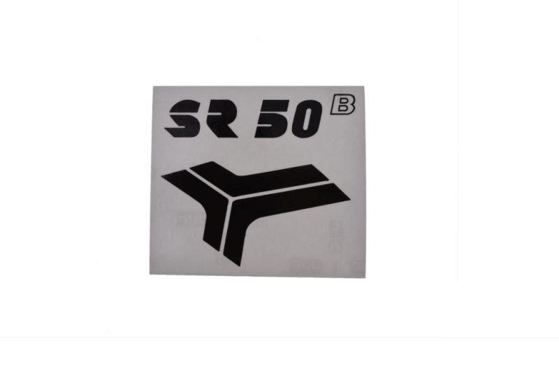 Embléma SIMSON SR50 Fekete 10db