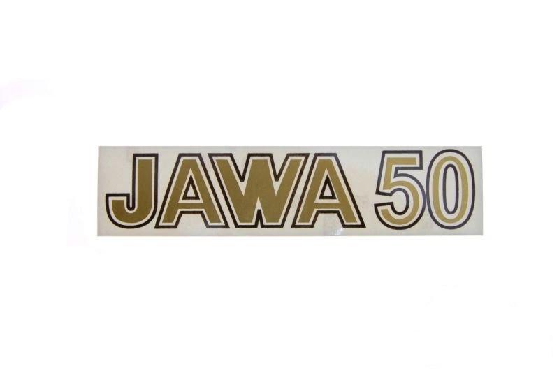 Embléma JAWA 50 Arany 10db