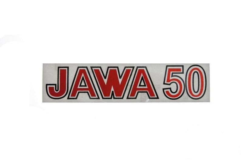 Embléma JAWA 50 Piros 10db