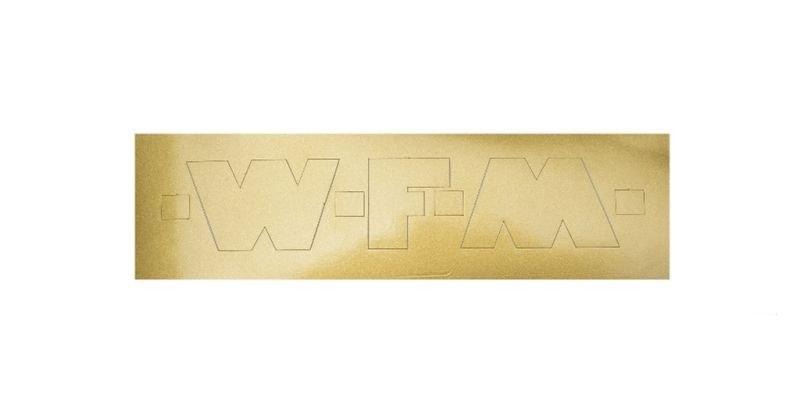 Embléma, WFM arany