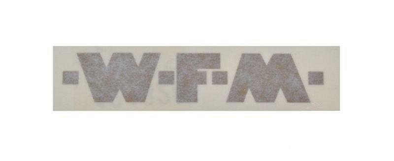 Embléma, WFM