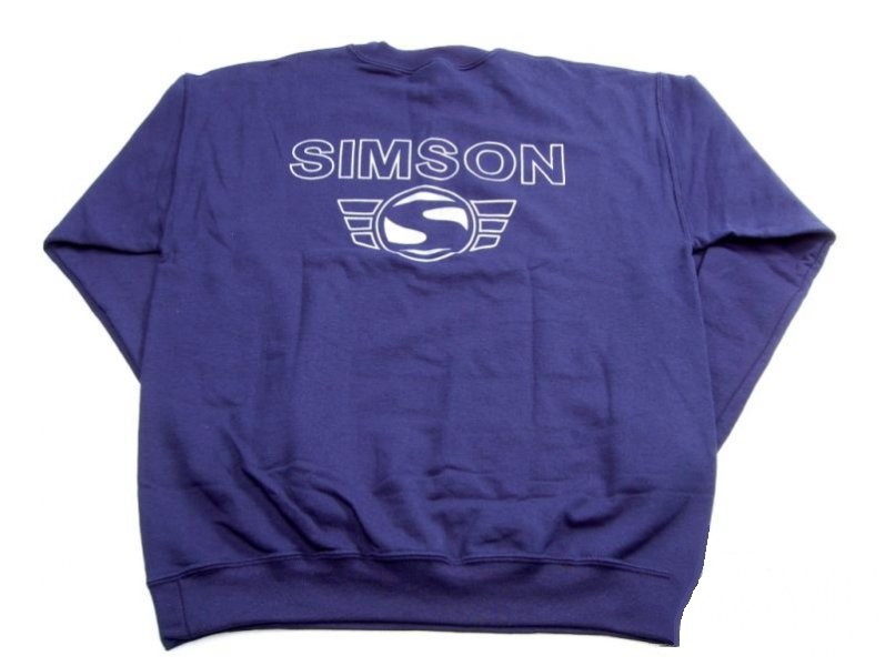 Hosszú ujjú pulóver SIMSON XXL