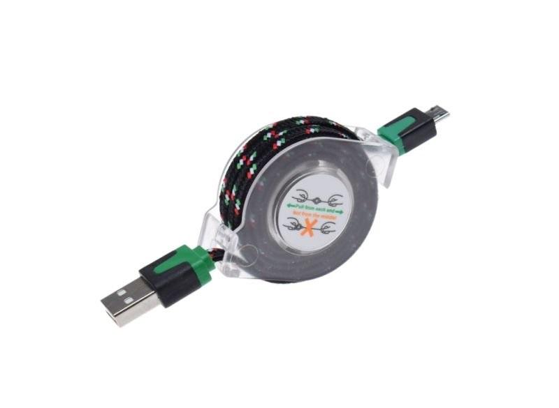 Micro USB kábel (Samsung, Sony, LG stb.) 1m
