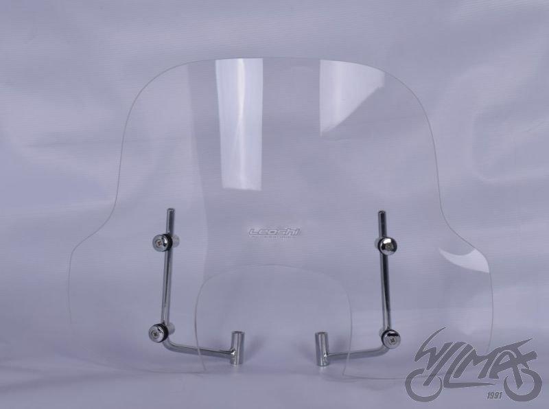 Szélvédő plexi KYMCO LIKE 50 125 380 X 530 mm szerelvényekkel