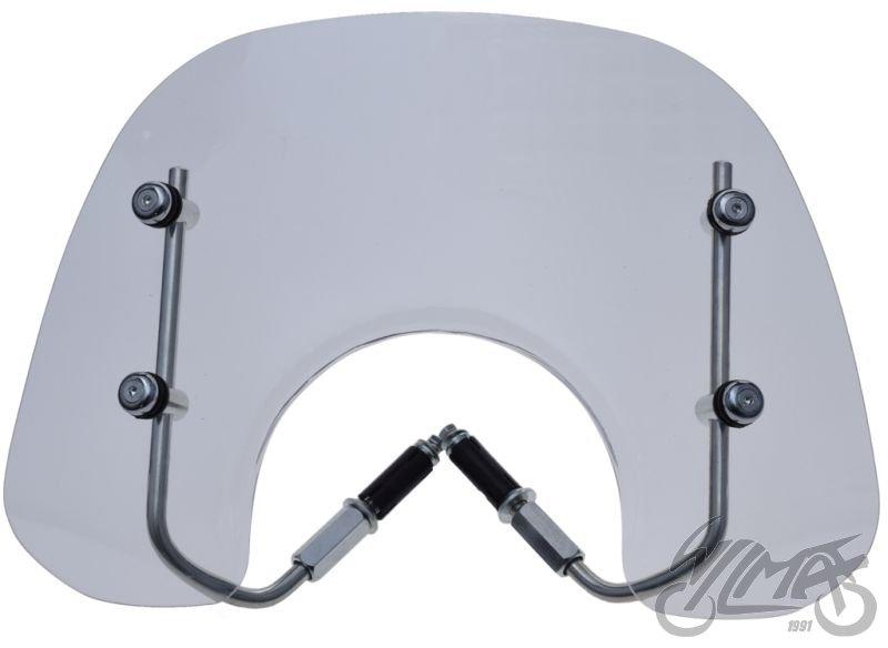 Szélvédő plexi VESPA LX 280 X 440 szerelvényekkel