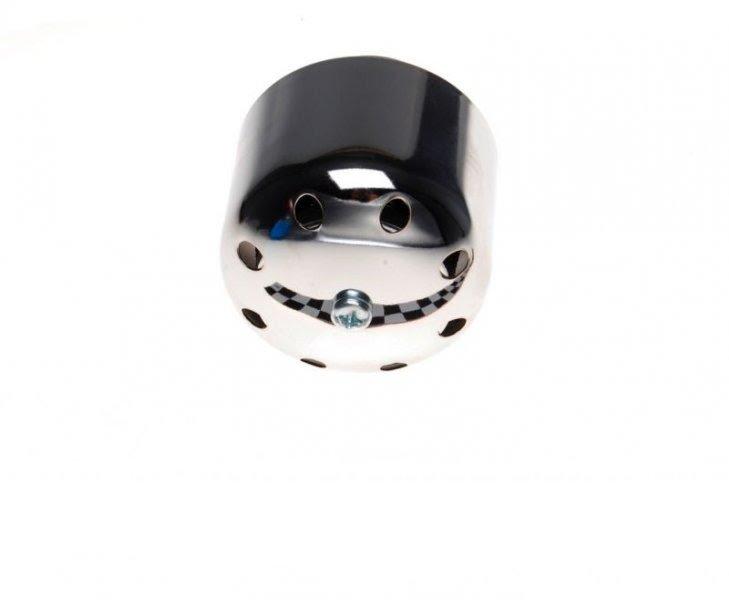 Légszűrő fém ház/burkolat, KRÓM 35mm