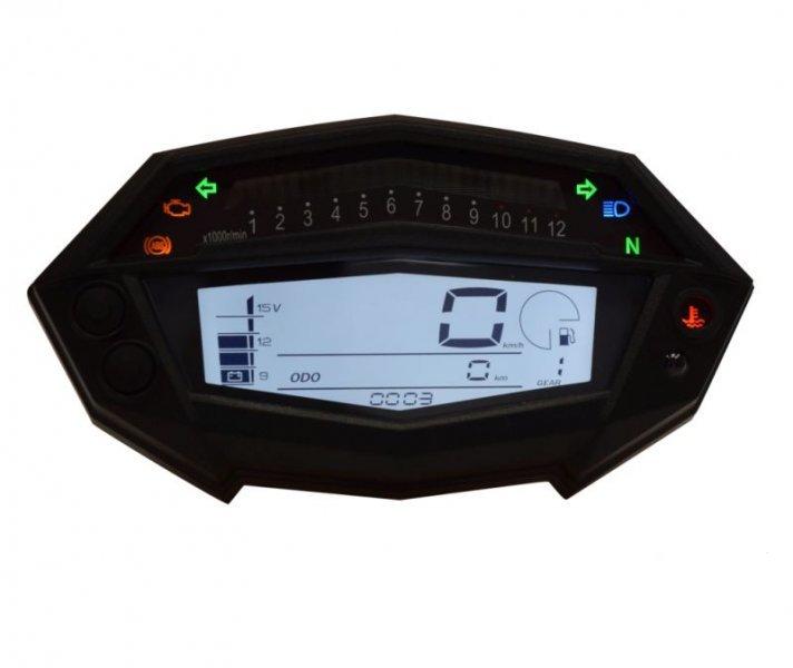 Sebességmérő műszer, digitális, univerzális