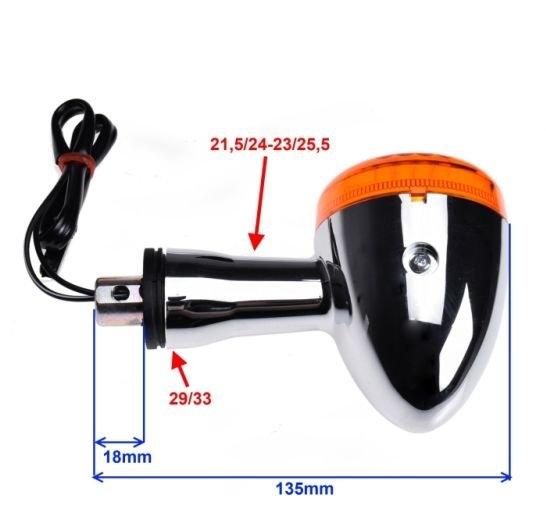 Index irányjelző lámpa Suzuki INTRUDER C M800 VL1500 jobb hátsó/