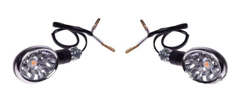 Index, irányjelző lámpa, fekete LED