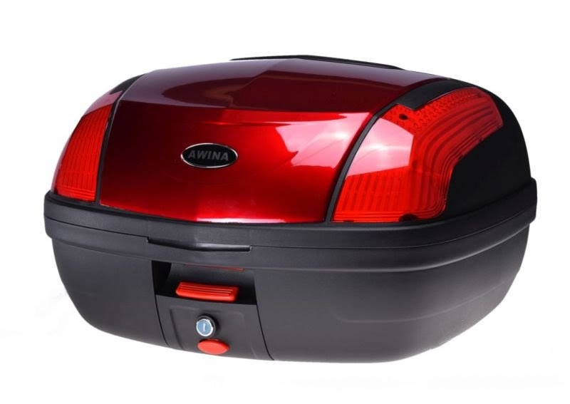 Hátsó doboz, piros 56x43x33cm 46L