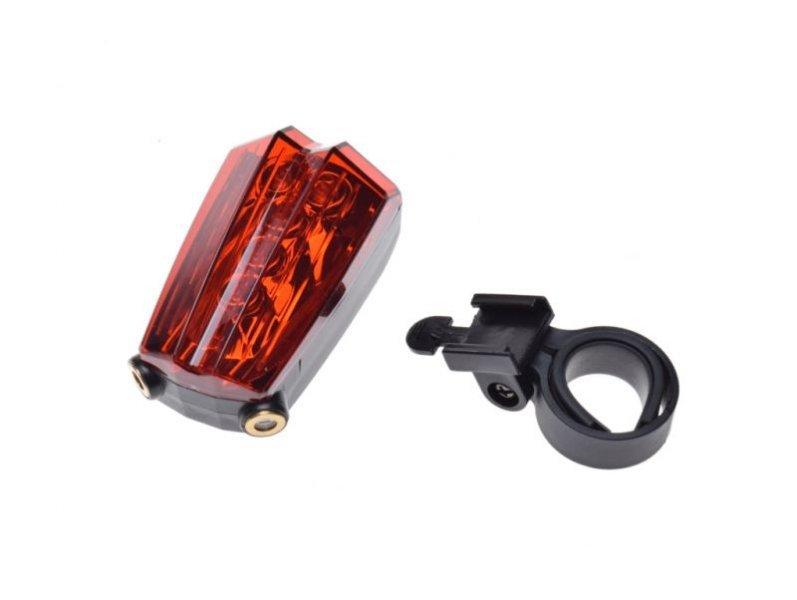 Hátsó lámpa, LED kerékpár bicikli