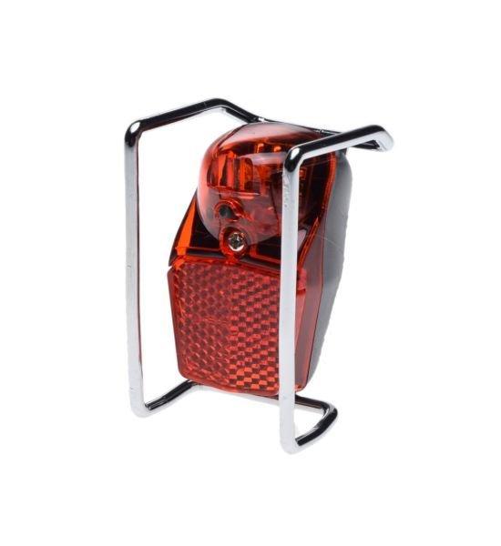 Hátsó lámpa (LED), bicikli védővázzal