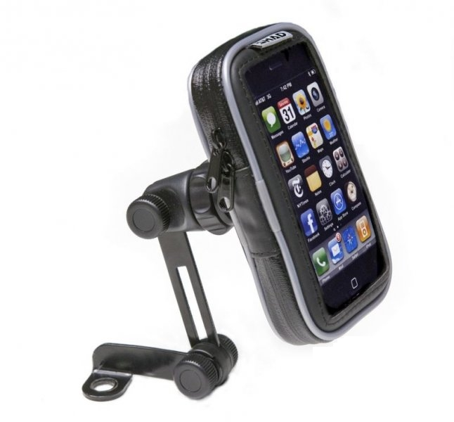 Okostelefon tartó 4.3 Zoll SHAD tükör csavar befogatással