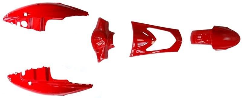 idom szett Kymco Agility 50 125 5db piros