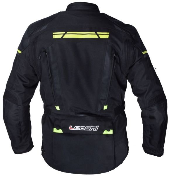 Motoros Kabát LEOSHI Fekete 5XL