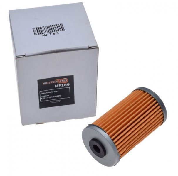 Olajszűrő MF169 (HF169)MOTOFILTRO 15412-BA1-0000