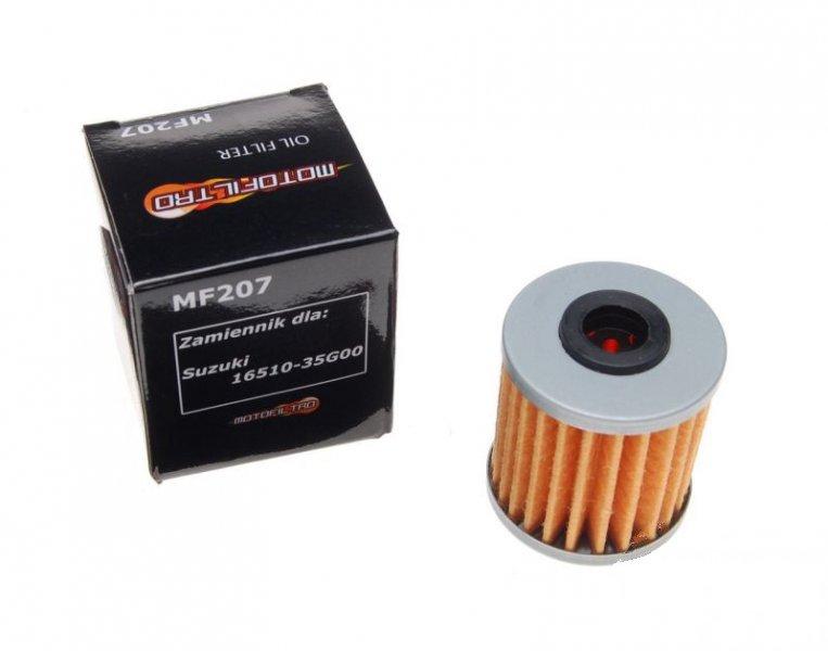 Olajszűrő MF207 (HF207) MOTOFILTRO 16510-35G00