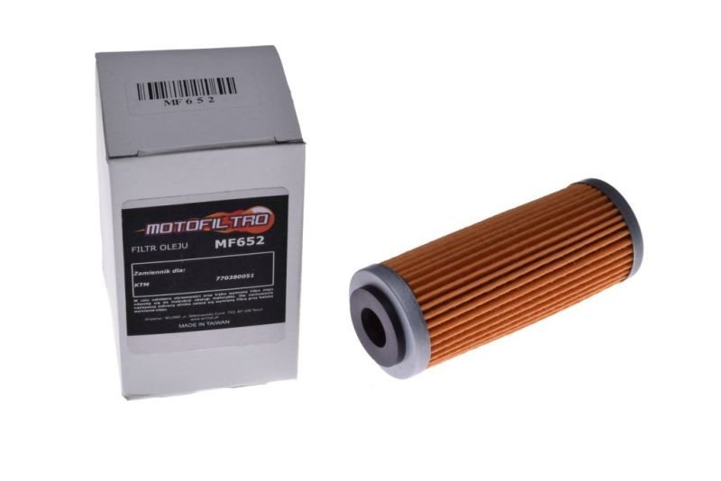 Olajszűrő MOTOFILTRO MF652 (HF652) REPL. KTM 773380051