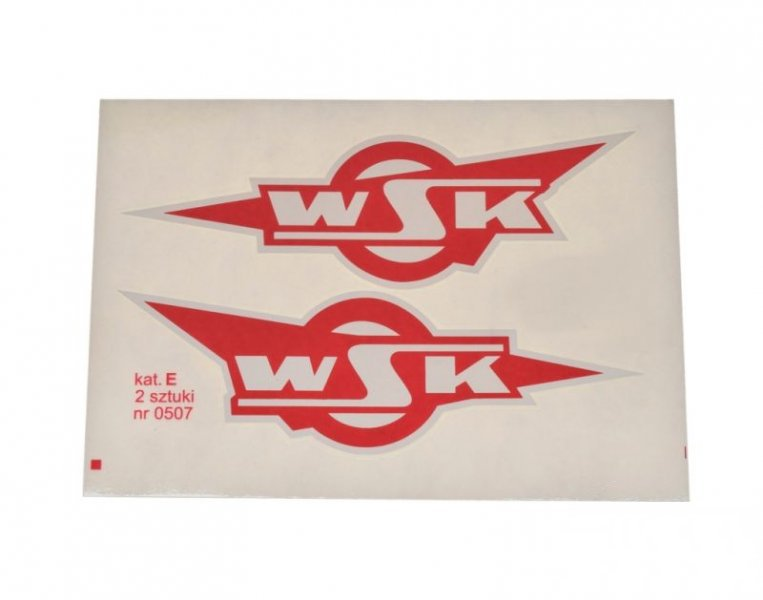 Embléma, WSK piros 10db