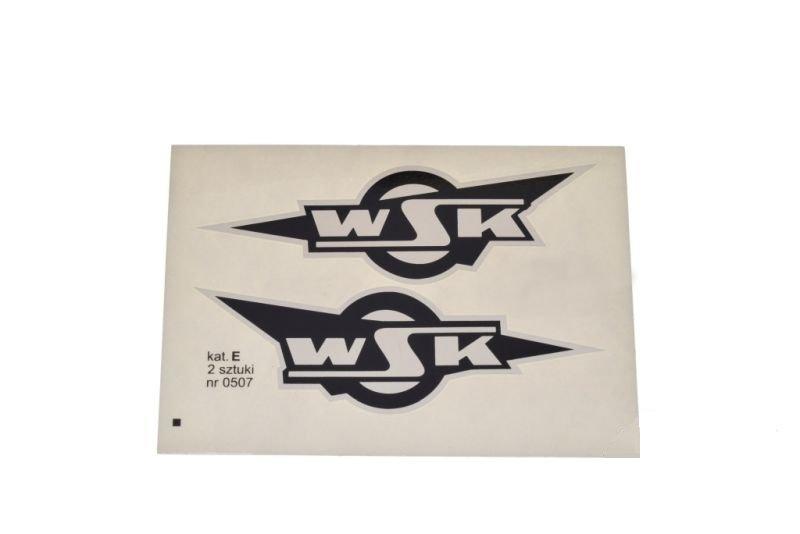 Embléma, WSK fekete 10db