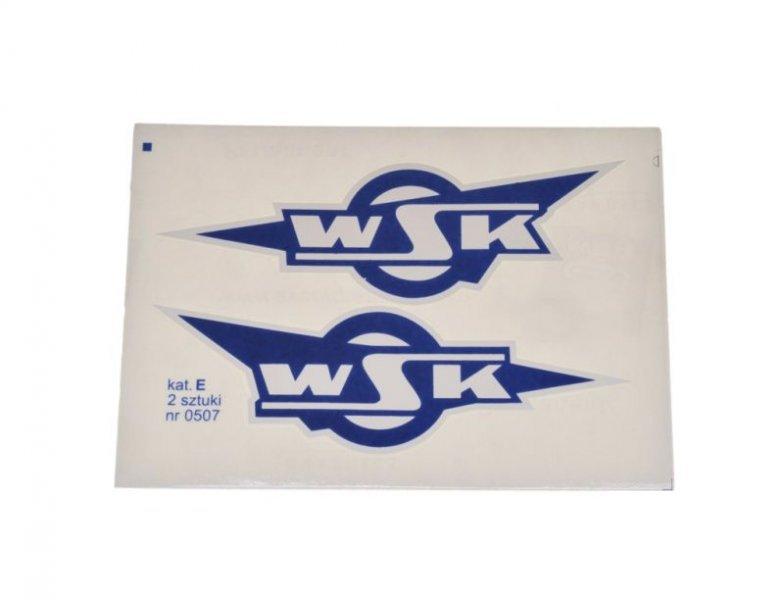 Embléma, WSK kék 10db