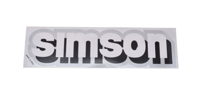 Embléma, SIMSON 10db