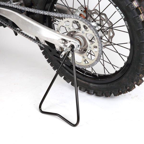 Motortartó állvány, hátsó kerék oldaltámasz enduro