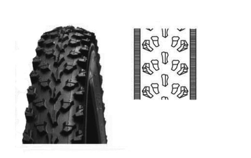 Abroncs külső kerékpár, 26 x 2.1 M325 AWINA