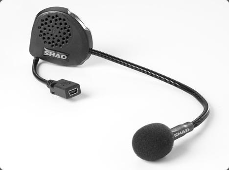 Sisak kihangosító átbeszélő SHAD BC01