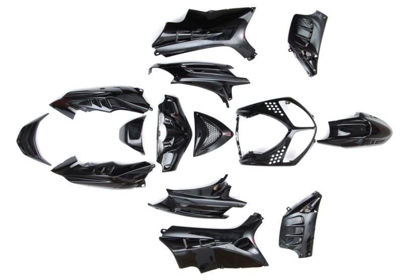 idom szett Peugeot Speedfight I-II 50 100 fekete 14 db