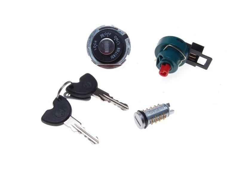 kapcsoló szett + kulcs gyújtás Piaggio ZIP 50 4T
