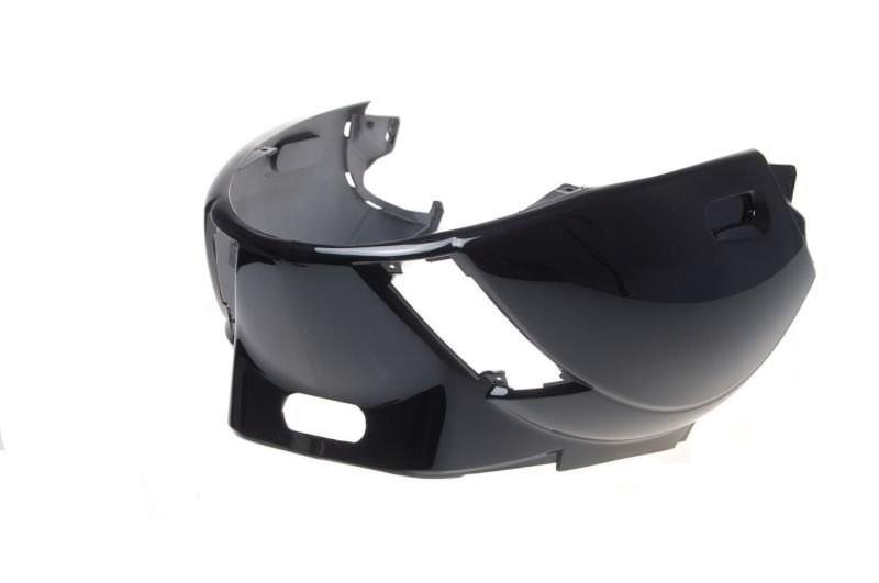 ülés alatti idom burkolat Piaggio Zip 50 4T fekete