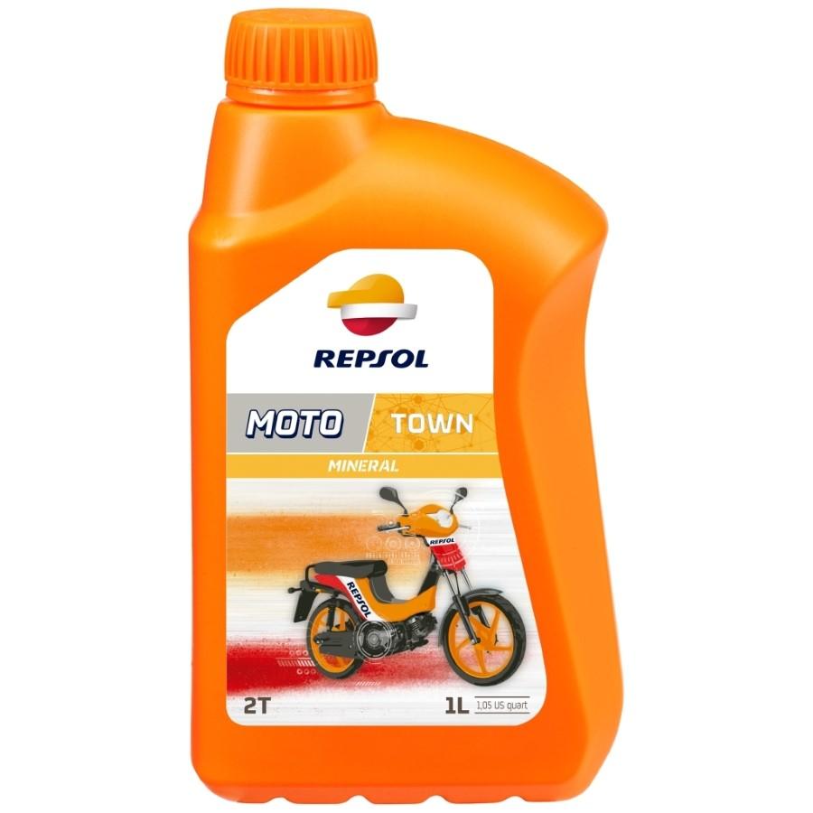 Repsol 2T MOTO TOWN 2T 1L motorolaj szintetikus kétütemű