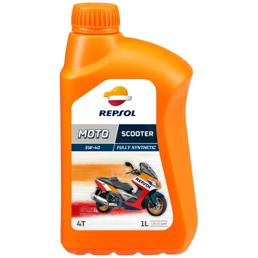 Repsol 4T 5W-40 MOTO SCOOTER 4T 5W40 1L motorolaj motorkerékpárokhoz